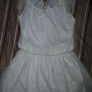 Preloved / Zara White Dress