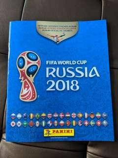 Panini FIFA 2018 World Cup Sticker Album (USA Version)