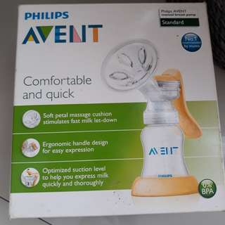 Philips avent manual breat pump