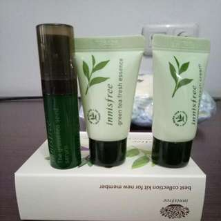 Innisfree Starter Kit Green Tea Series