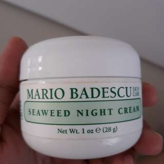 Matio badescu seaweed night cream