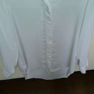 Polo blouse long sleeve