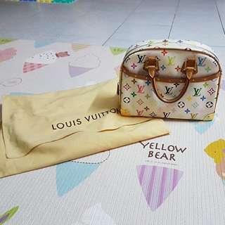 Authentic louis vuitton limited multicolor trouville
