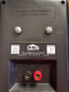 Mordaunt-short Limited Speaker - 2 PCS
