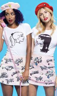 Betty and Veronica Archie Comics Riverdale Tee Top Set Size XS