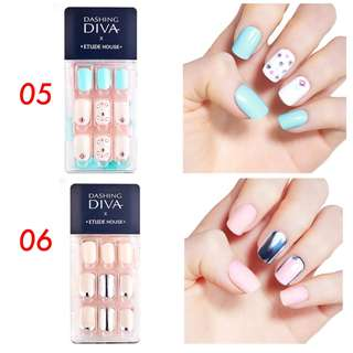 Dashing Diva x Etude House Magic Press On Nails Set