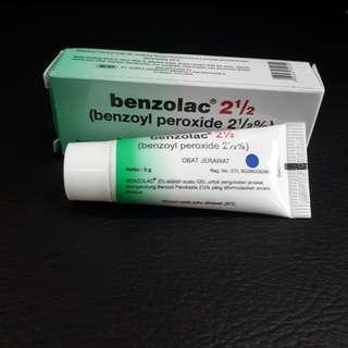 Benzolac obat jerawat