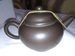 🚚 茶壺 手工 老壺 老件 古董 含錦盒
