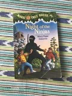 Magic Tree House #5 - Night of Ninjas