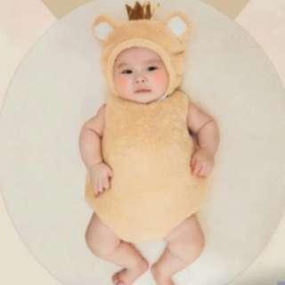 Baby Brown Bear Prince Costume