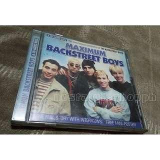 BACKSTREET BOYS vcd (rare collectible)