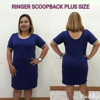 RINGER SCOOPBACK PLUS SIZE