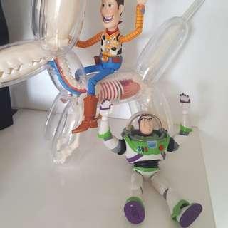 中古 原裝正版 山口式 海洋堂 反斗奇兵 toy story 巴斯 buzz 公仔 figure 可動 巴斯光年