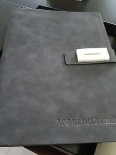 Note Book Velvet Cover