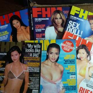 Rare - FHM Philippines Back Issues