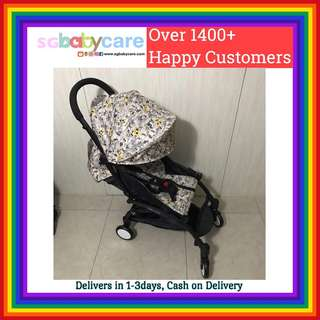 FREE DELIVERY Compact Recline Travel Stroller - Disney 2