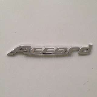 Honda Accord TAO ACCORD emblem