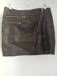 Supre Leather Skirt Size: S