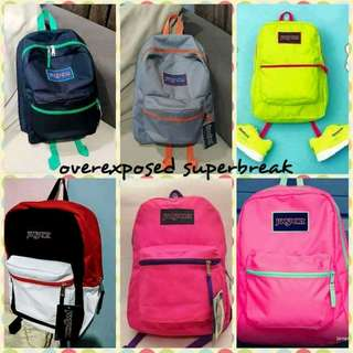Original & Made to order Jansport Overexposed Bags