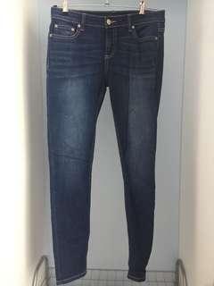 Mix Blue Jeans Size: 8