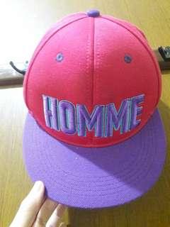 Preloved Topi Pink Fanta Homme Fashion Import Korea