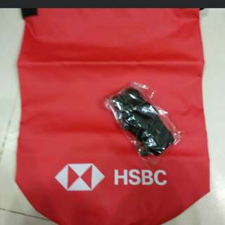 Waterproof brand new HSBC bag