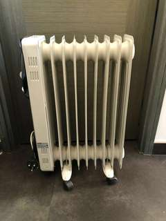Imarflex Oil Heater - portable with wheels