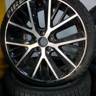 19 Inch 5x112 Used Rims & Tyres