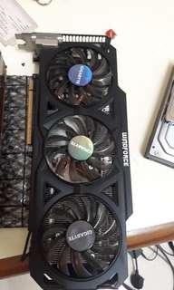 GIGABYTE R9 270x 2GB ddr5 256Bit Windforce