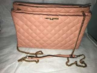 韓國粉紅色袋