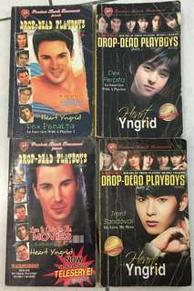 PHR Pocketbooks Drop Dead Playboys by Heart Yngrid