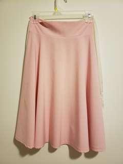 Pink high wasit dress