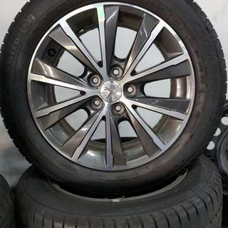 16 Inch 5x108 Used Rims & Tyres