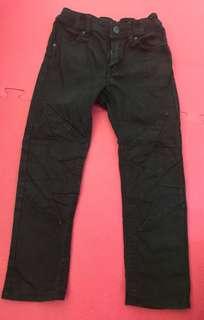 H&M black flash jeans