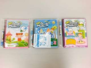 Magic colour watering books