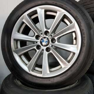 17 Inch 5x120 Used Rims & Tyres