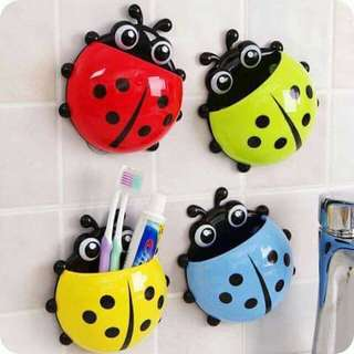 Lady Bug Toothbrush Holder