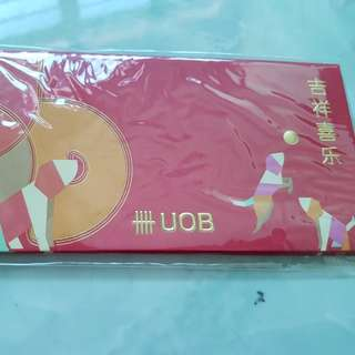 Uob red packets 1 packet dogs design