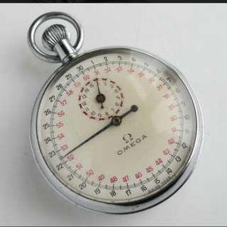 🚚 古董omega計時懷錶