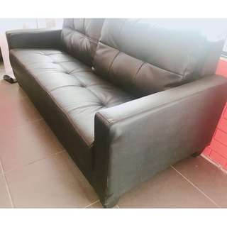 Showroom sample 3 seater for sale with minor corner damage.