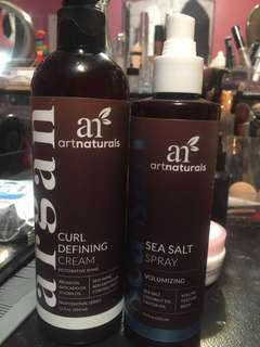 Argan hair products