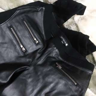 Cotton On Faux leather leggings