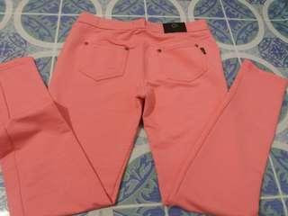 Strechable Pants Pink