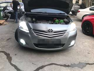 Hid conversion for Toyota Vios