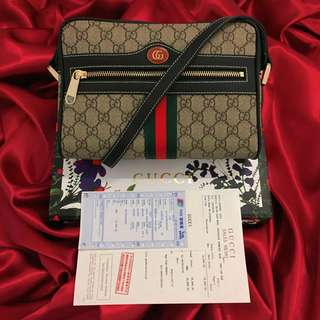"Gucci P2,350/ with box & receipt / Authentic Quality /  Size: H: 7"" x W"" 10.4"""
