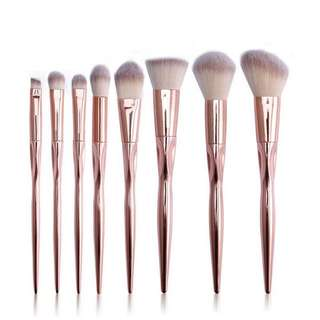 [PRE-ORDER] Metallic Makeup Brush Set