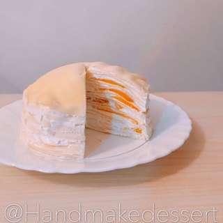 芒果千層蛋糕