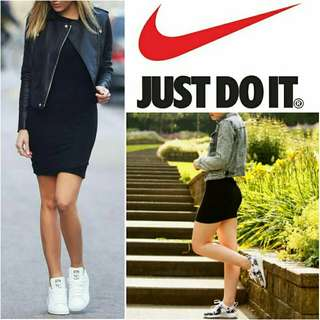 -Yunik- Authentic Nike Bodycon Dress