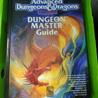 Adv Dungeons & dragons Dungeon Master guide