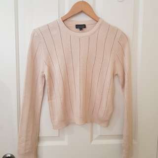 Topshop pointelle sweater